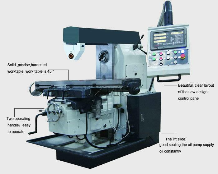 knee type milling machine x6132c