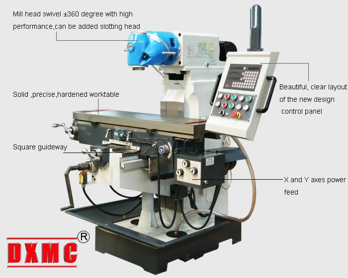 universal milling machine xq6232a