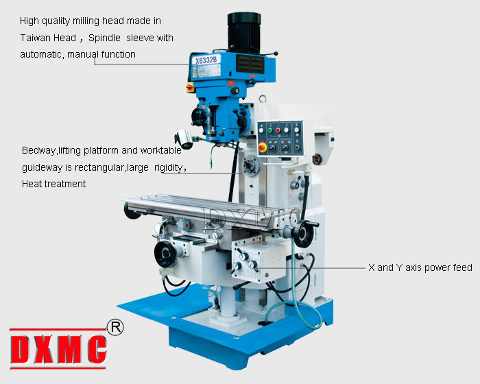 horizontal milling machine x6332b