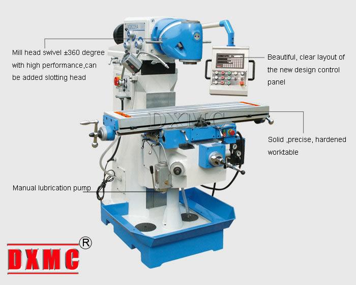 universal milling machine xq6226a
